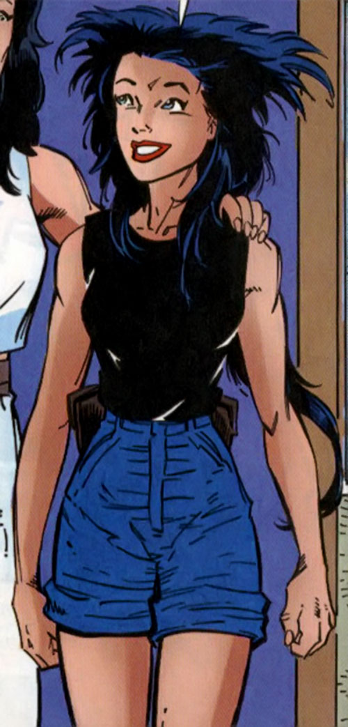 Wild Thing (Wolverine / Elektra daughter) (Marvel Comics MC2) out of costume