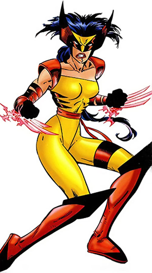 Wild Thing (Wolverine / Elektra daughter) (Marvel Comics MC2)