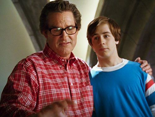Will Stronghold (Michael Angarano in Sky High) with his father