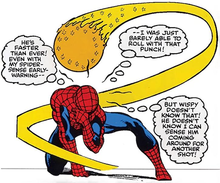 Will o' the Wisp vs Spider-Man