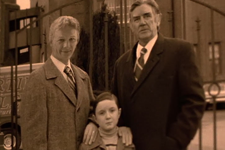 Willard (2003 rat movie with Crispin Glover) childhood photo with father