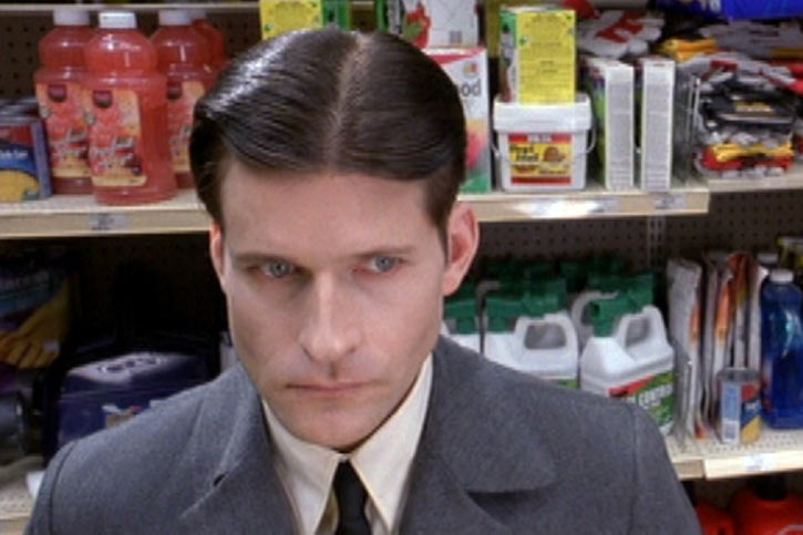 Willard (2003 rat movie with Crispin Glover) looks creepy at the shop