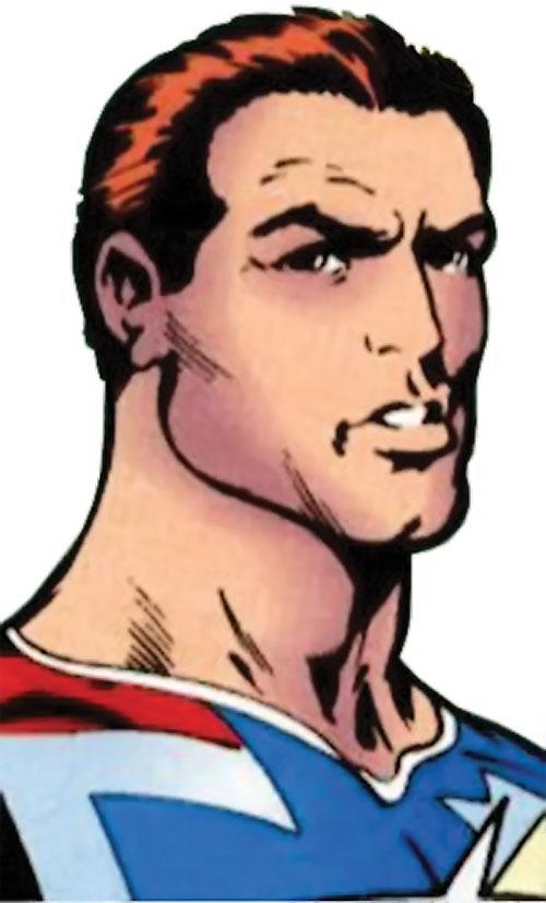 William Destine of Clan Destine (Marvel Comics) face closeup