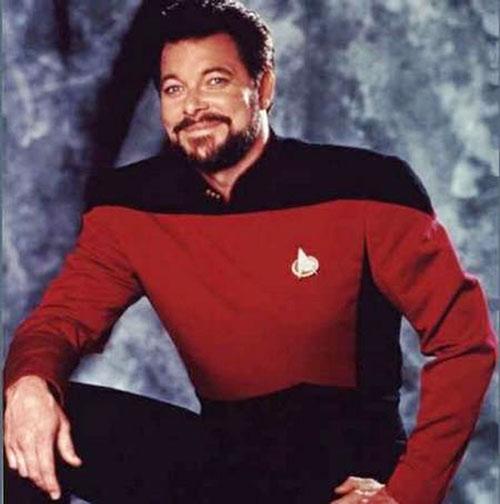 William Riker (Jonathan Frakes in Star Trek)