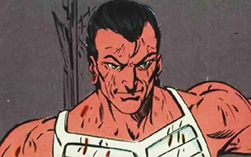 Wind (Strikeforce Morituri)'s unmasked face