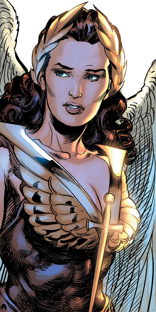Winged Victory (Astro City comics) portrait