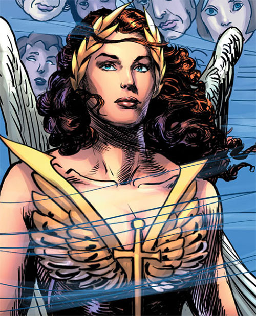 Winged Victory (Astro City comics) psychic wind