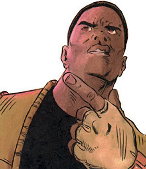 Wise Son of the Blood Syndicate (Milestone Comics) closeup