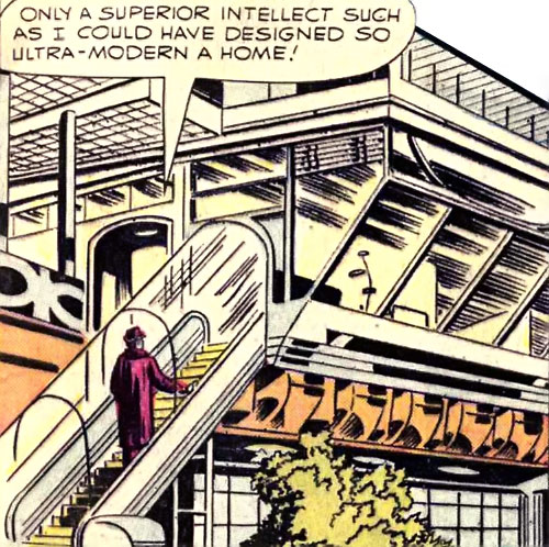 Wizard (Marvel Comics) ultra-modern home
