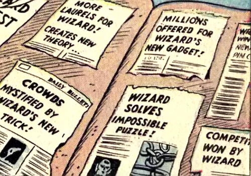 Wizard (Marvel Comics) press scrapbook