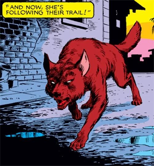 Wolfsbane (New Mutants) (Marvel Comics) (Earliest) wolf form old street
