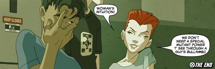 Wolfsbane (New Mutants) (Marvel Comics) (Earliest) modern art