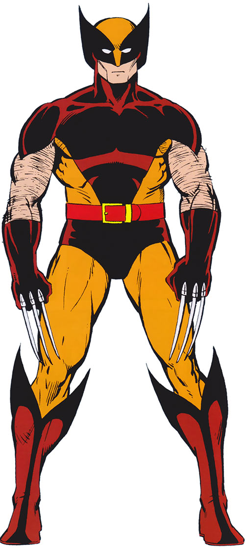 In the first X-men movie (2000), Wolverine is wearing the ...