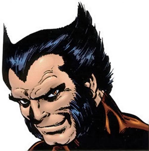 Wolverine (Marvel Comics) 1980s face closeup
