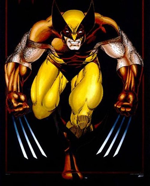 Wolverine (Marvel Comics) by Art Adams