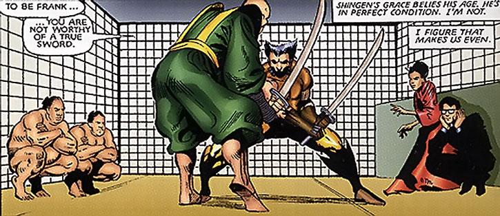 Wolverine vs. Lord Shingen