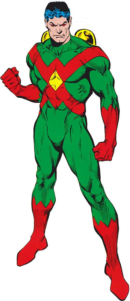Wonder Man (Marvel Comics) (Avengers) 1985 handbook ugly costume
