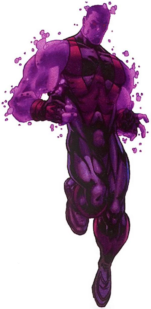 Wonder Man (Marvel Comics) (Avengers) as an energy being