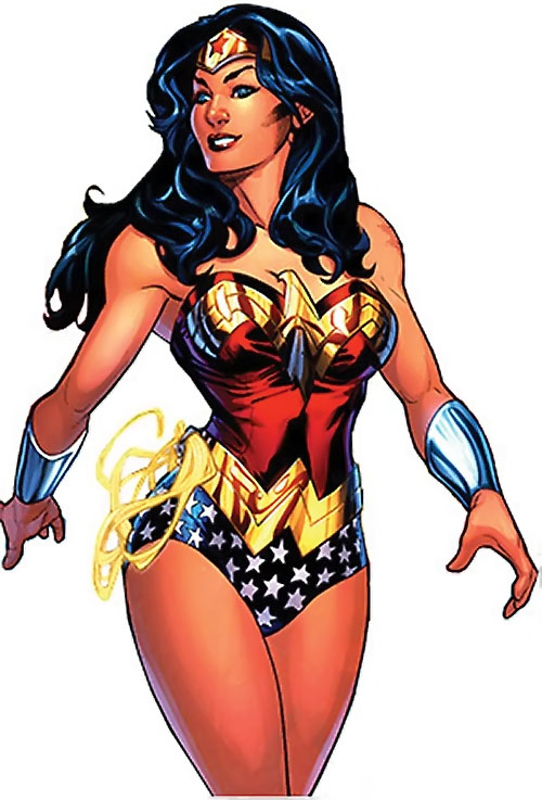 Wonder Woman (DC Comics) (Gail Simone era) by the Dodsons
