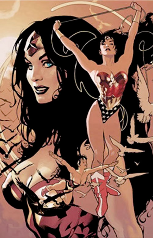 Wonder Woman (DC Comics) by Adam Hugues