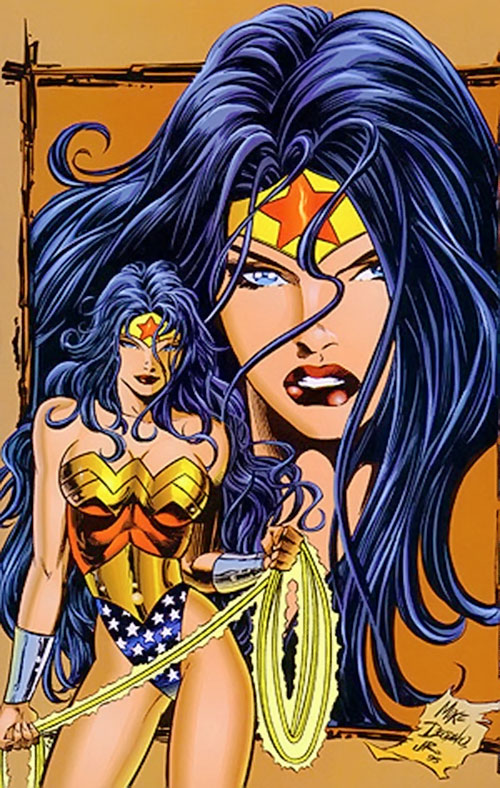 Wonder Woman (DC Comics) by Deodato