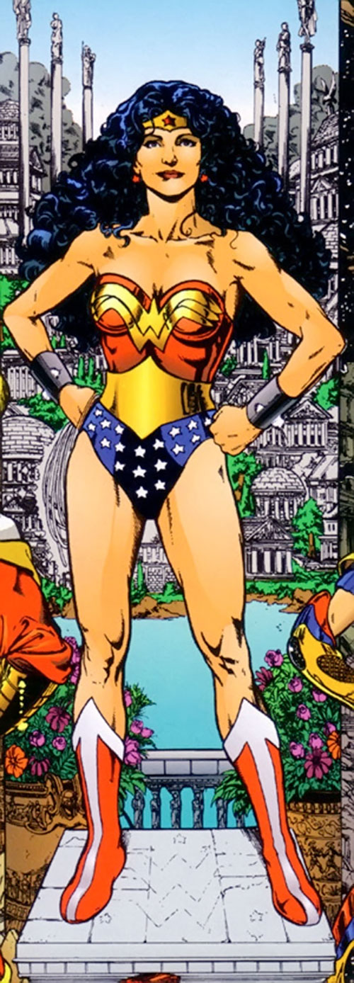 Wonder Woman (DC Comics) by Perez, in Olympus