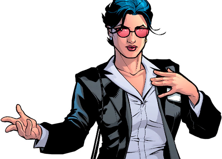 Wonder Woman as agent Diana Prince