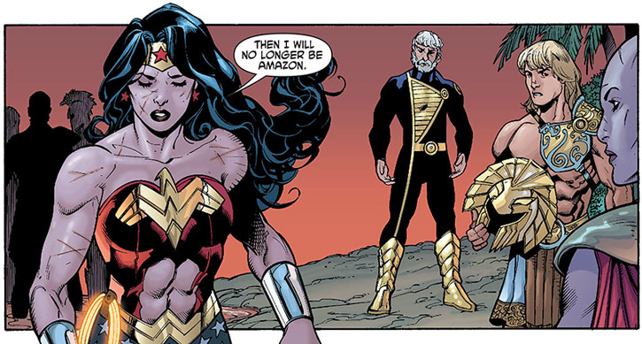 Wonder Woman rejects Zeus