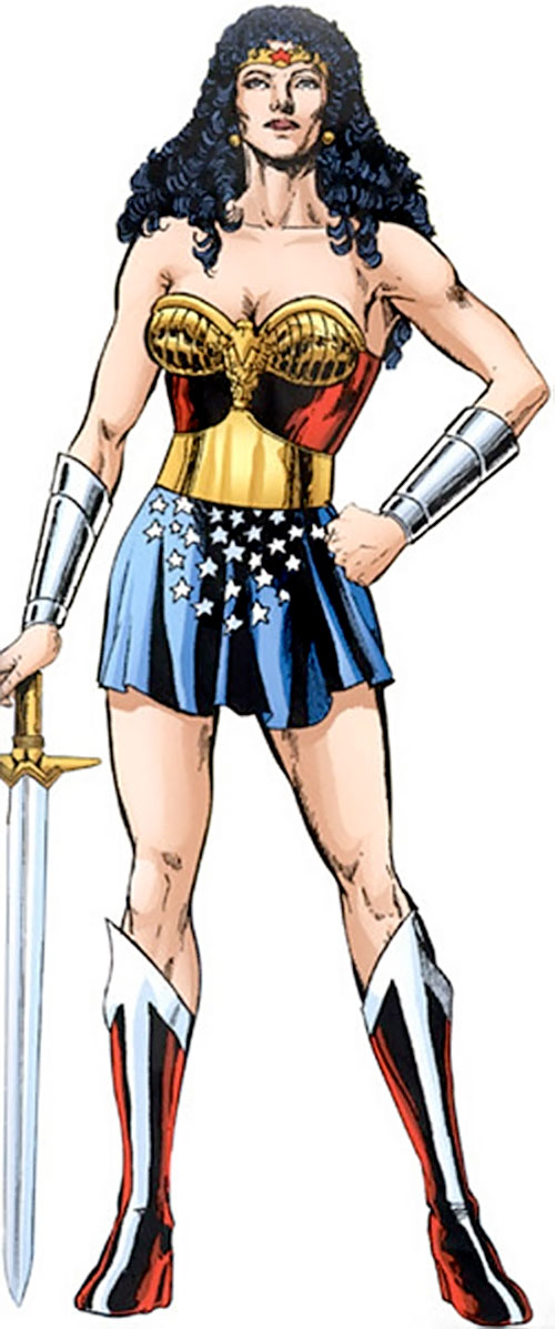 Queen Hippolyta as Wonder Woman (DC Comics) by Jimenez