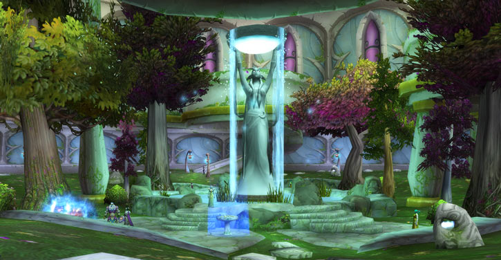 World of Warcraft - Draenei shaman - Ravenstill - temple of elune