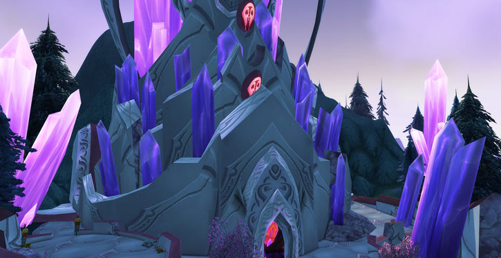 World of Warcraft - Draenei shaman - Ravenstill - the Exodar