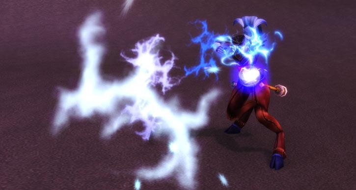 World of Warcraft - Draenei shaman - Ravenstill - shooting lightning