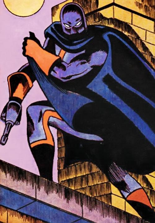 Wraith (Marvel Comics) on a rooftop