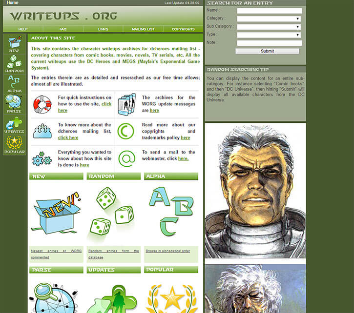 Writeups.org in 2009