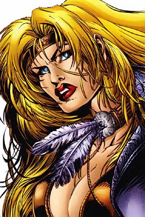 Wynonna Earp (Image Comics) face closeup