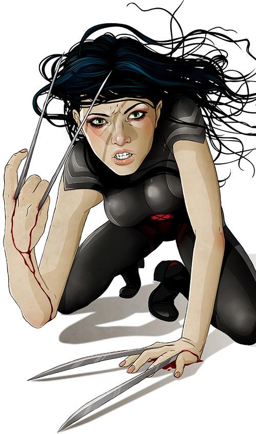 X-23 Laura Kinney Wolverine (Marvel Comics) Jason Levesque 70th anniversary art