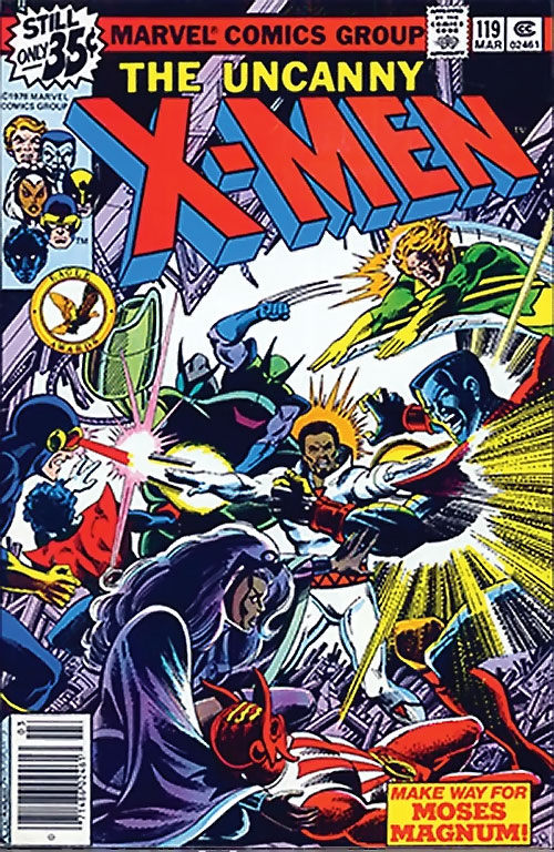 1980s X-Men Comics - issue 119 cover