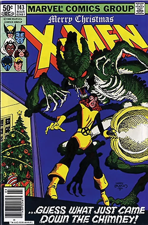 1980s X-Men Comics - issue 143 cover