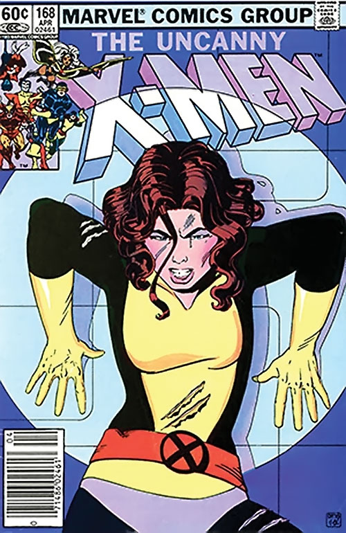 1980s X-Men Comics - issue 168 cover
