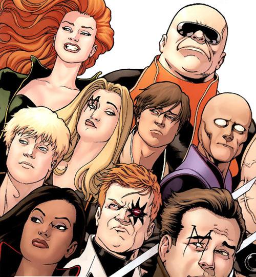 """X-Factor Investigations (Marvel Comics) (Peter """"PAD"""" David) team faces"""