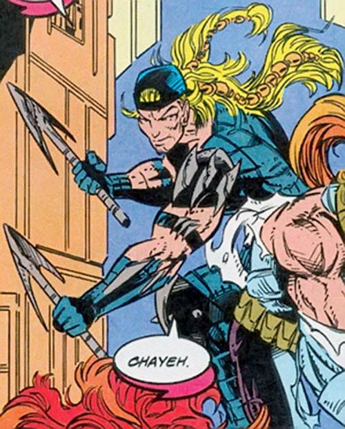 X-Treme (Adam-X) (Marvel Comics) and Shatterstar
