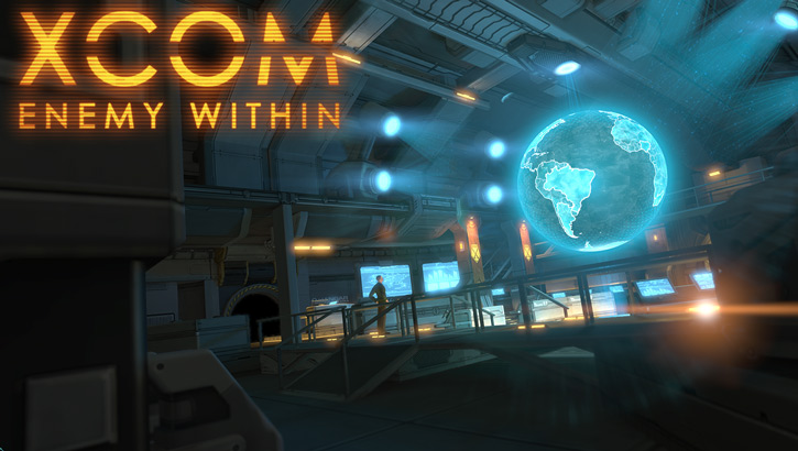 XCom Enemy Within splash screen