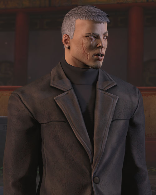 XCom video game - Chilong Zhang leather jacket