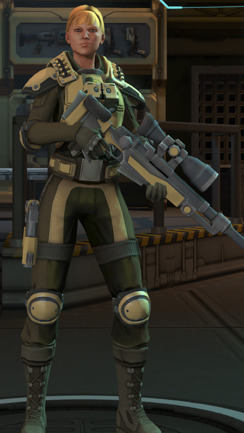 XCom Enemy Within - sniper
