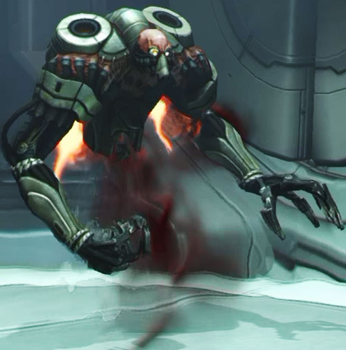 XCom: Enemy Unknown - floater alien closeup