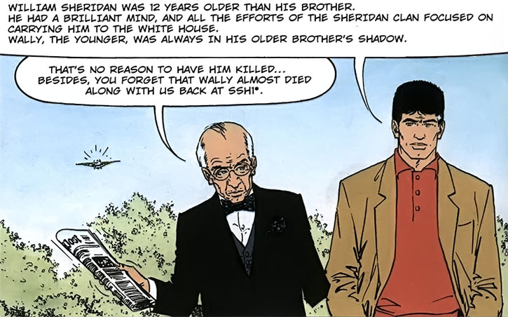 XIII and General Amos discussing