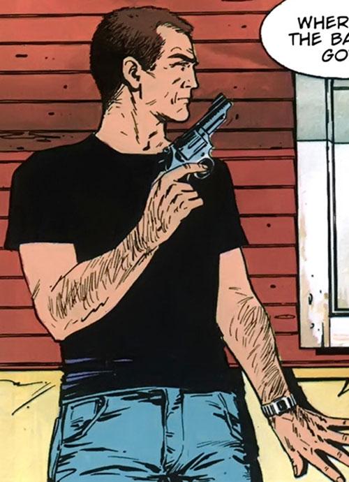 XIII in ambush with a revolver