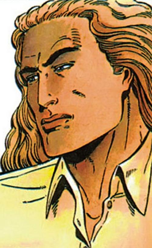 XO Manowar (Valiant Comics original 1990s) face closeup Barry Windsor Smith