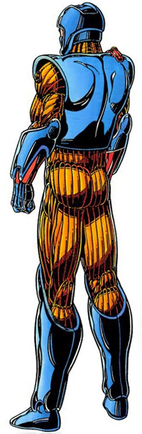 XO Manowar (Valiant Comics original 1990s) armor back view