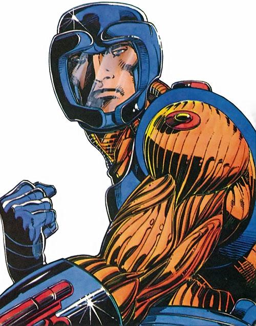XO Manowar (Valiant Comics original 1990s) portrait armor Barry Windsor Smith